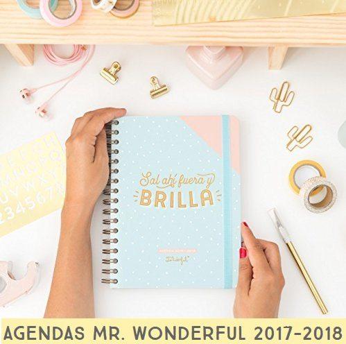 AGENDAS MR. WONDERFUL 2017-2018
