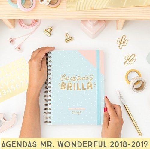 Agenda Mr. Wonderful 2018 - 2019