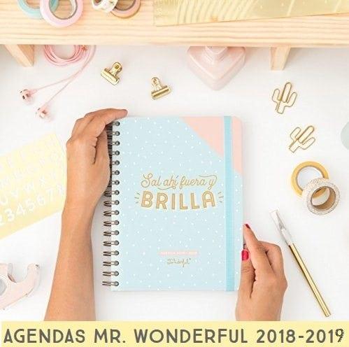 Agenda Mr. Wonderful 2018 - 2019