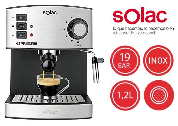 Cafetera Solac Espresso CE4480