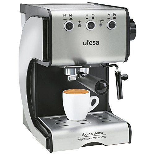 Cafetera espresso Ufesa Duetto Creme CE7141