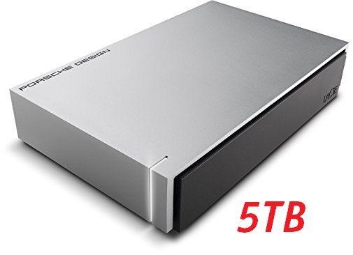 Disco duro LaCie Porsche Design de 5TB USB 3.1 Type-C