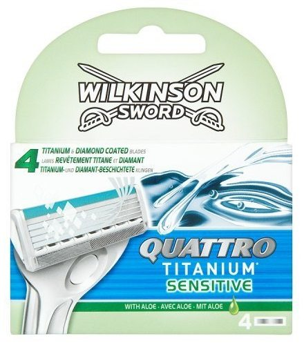 Wilkinson sword quattro titanium Sensitive