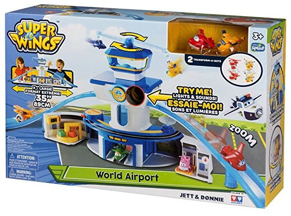 Aeropuerto Internacional de Super Wings Jett & Donnie