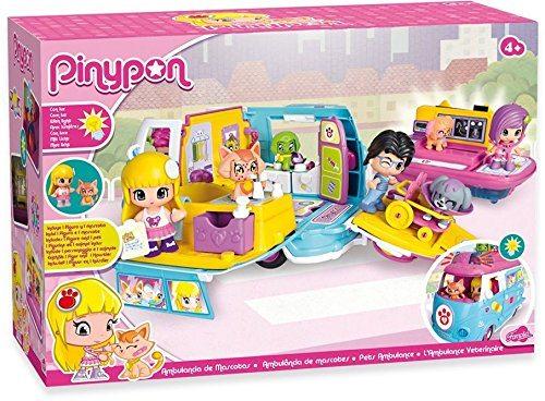 Ambulancia de mascotas de Pinypon Barata