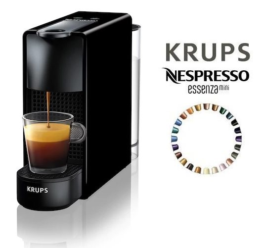 Cafetera Krups Nespresso Essenza Mini Piano
