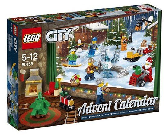 Calendario de Adviento LEGO City Town 60155