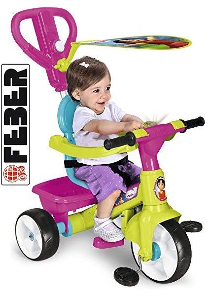 Triciclo FEBER con diseño Heidi de Famosa