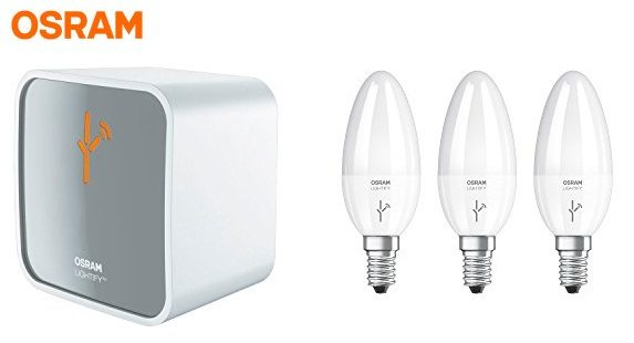 Osram LIGHTIFY - Kit con regulador y bombillas