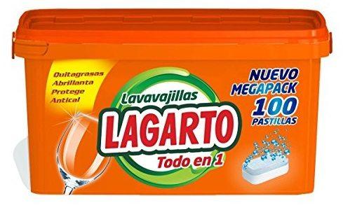 Lavavajillas Lagarto Todo en 1 de 100 Pastillas