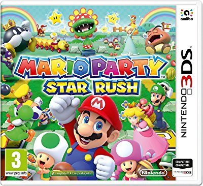 Mario Party Star Rush Nintendo 3DS