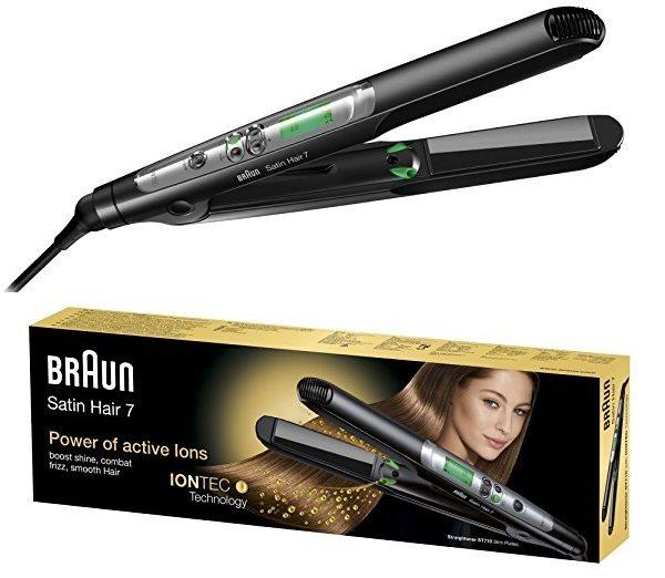 Plancha de Pelo Braun Satin Hair 7 ES2