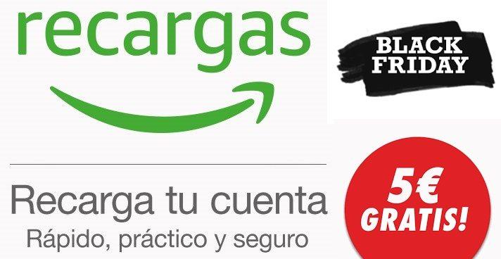 Recargas Amazon 5 euros gratis