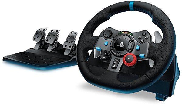 Volante Logitech G29 con pedales incluidos para PS4/PS3/PC