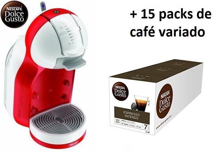 Dolce Gusto Mini Me + 15 packs de café