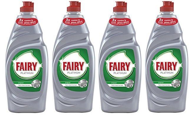 FAIRY lavavajillas a mano concentrado Platinum