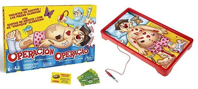Juego Operación (Hasbro B2176B09)