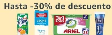 Hasta -30% de descuento en Amazon Pantry