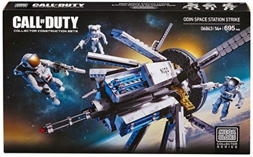Juguete Mega Bloks Call of Duty Estación Espacial Odin