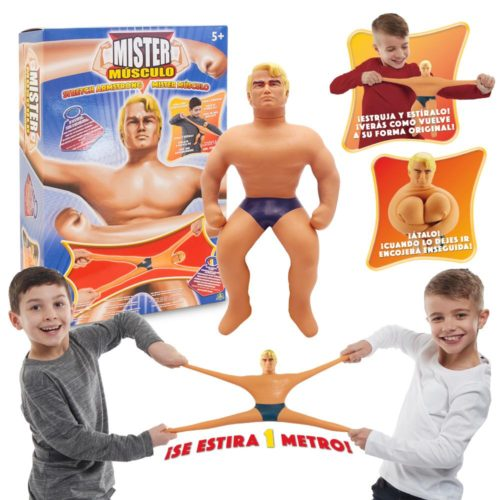 Muñeco Mister Musculo de Stretch Armstrong