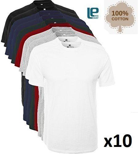 Pack de 10 camisetas Lower East
