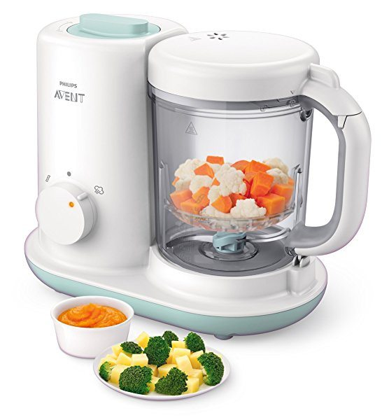 Robot de cocina Philips Avent SCF862/02 para bebés