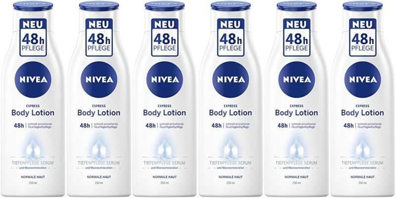 Pack Nivea Loción corporal Hidratante Express 48 horas (6 x 250ml)
