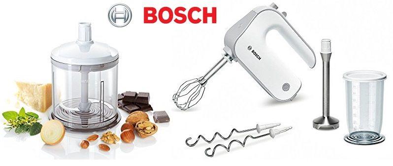 Batidora de repostería Bosch Styline MFQ4080 + accesorios