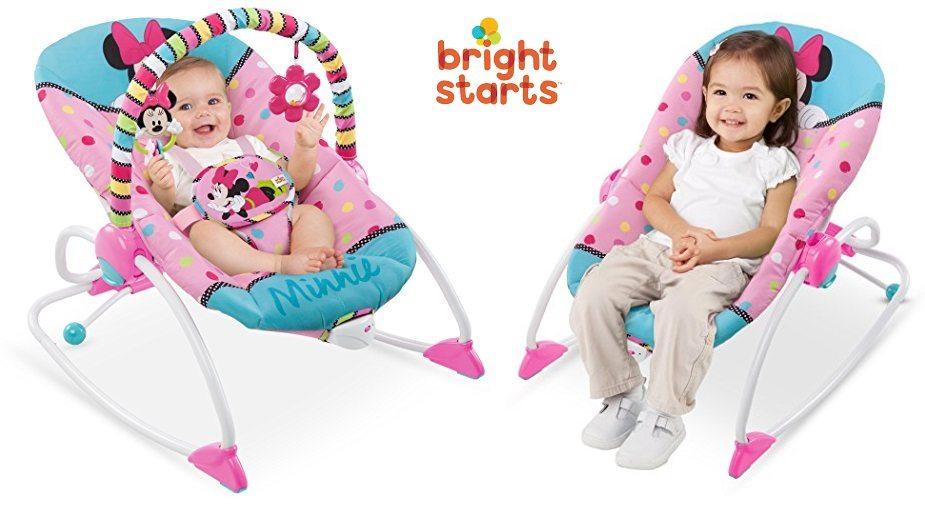 Hamaca de bebé Disney Baby Rocker Minnie de BRIGHT STARTS
