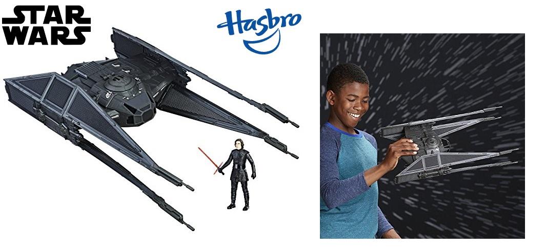 Star Wars Kylo Ren's Tie Silencer con Force Link de Hasbr