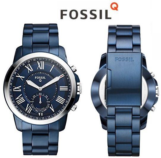 Smartwatch Híbrido Fossil Q Grant