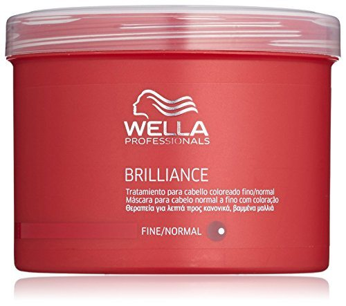 Wella - Brilliance - Tratamiento para cabello coloreado fino/normal - 500 ml