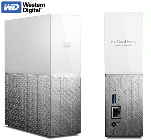 Western Digital My Cloud Home - Nube personal de 3 TB