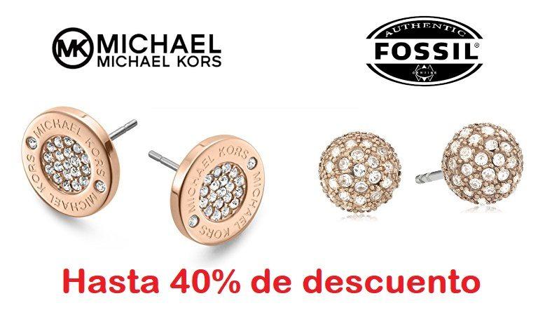Hasta 40% de descuento en Joyería Michael Kors & Fossil