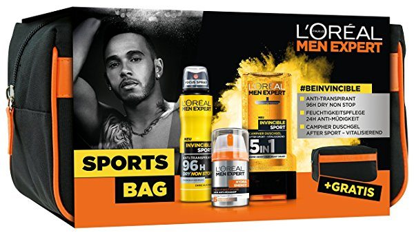 Set L'Oréal Men Expert Sports Bag + Neceser de regalo