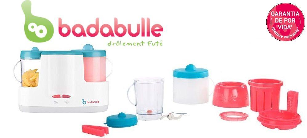 Robot de cocina Badabulle Baby Station Calienta biberones