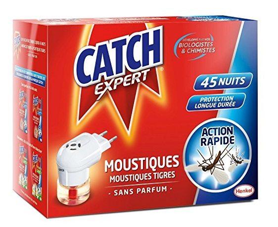 Catch con recambio difusor eléctrico líquido, 45 noches