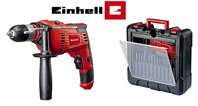 ¡Chollo! Kit Einhell TC-ID 1000 de Taladro percutor y accesorios