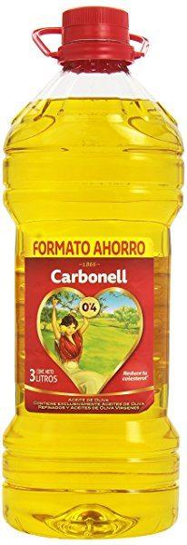 Aceite de oliva refinado 0,4 carbonell 3l