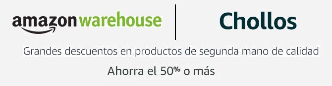 Descuentos Amazon Warehouse
