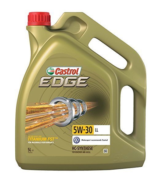Aceite de motor Castrol EDGE 5W-30 LL con TITANIUM FST