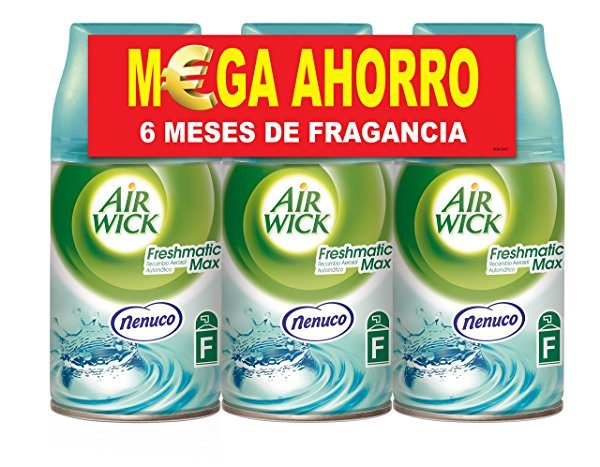 Pack de 3 recambios Air Wick Freshmatic Max