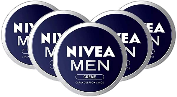 Pack de 5 Crema Nivea MEN 150ml