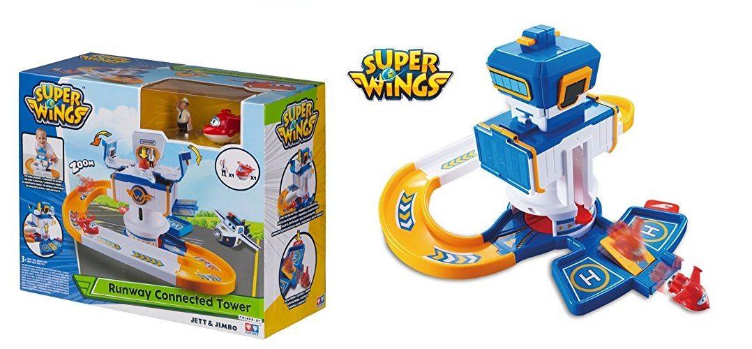 Super Wings Torre de Control Jett & Jimbo