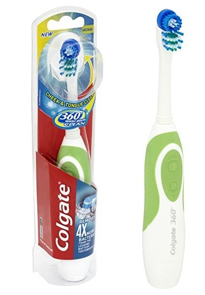 ¡Chollo! Cepillo eléctrico Colgate 360º Whole Mouth Clean