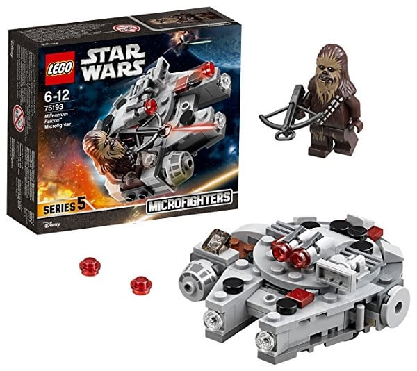 LEGO Star Wars Microfighter (75193): Halcón Milenario