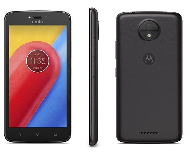 """Motorola Moto C - Smartphone de 5"""""""