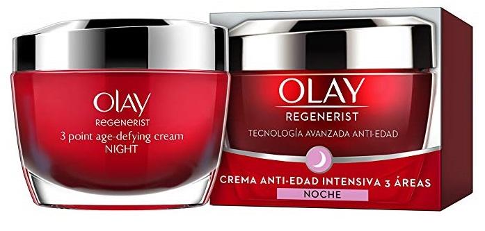 Olay Regenerist crema facial regeneradora de noche anti-edad