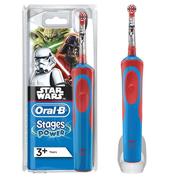 Cepillo eléctrico recargable infantil Oral-B Stages Power Star Wars