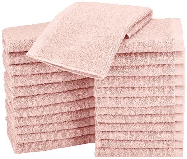 Pack de 24 Paños de algodón AmazonBasics